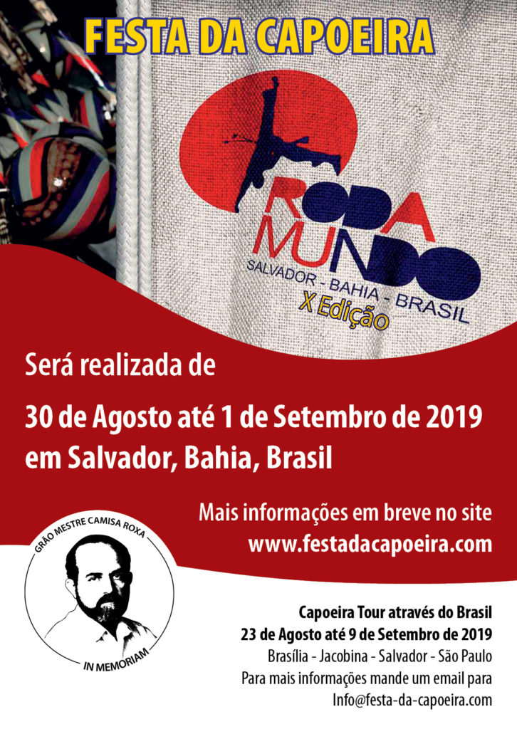 X Festa da Capoeira em Salvador Bahia